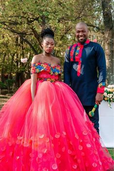 African Wedding Theme, African Wedding Attire, African Attire, African Dress, African Weddings, Venda Traditional Attire, Tsonga Traditional Dresses, Traditional Outfits, African Traditional Wedding Dress
