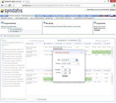 Kalendarz urlopowy dzięki, któremu możesz planować długofalowo zadania dla pracowników w firmie http://www.syndatis.com