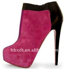 New high heels ankle boots