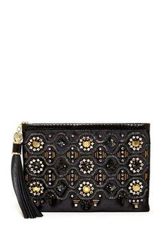 aa37a9108901 Rafe New York Large Celia Zip Clutch Best Handbags