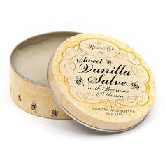 Rose Lip Balm Sweet Vanilla ($13) ❤ liked on Polyvore