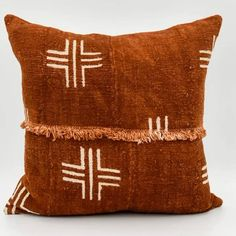 New pillows made from vintage and handmade textiles