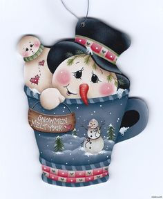 snowman by p.house