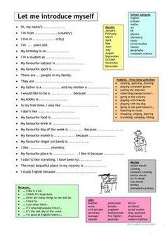 English esl speaking, elementary high school worksheets - most Esl Lessons, English Lessons, English Words, Learn English, English Class, English Lesson Plans, Esl Lesson Plans, English Language Learners, English Vocabulary