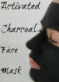 Activated Charcoal Face Mask - This lovely little mask is amazing at killing bacteria, getting rid of acne, and giving your face a nice deep cleaning, plus its a fun way to scare family members. Charcoal Face Mask Diy, Activated Charcoal Face Mask, Charcoal Mask Benefits, Acne Face Mask, Face Wrinkles, Diy Face Mask, Deep Cleaning Face Mask, Diy Masque, Too Faced