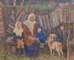 """Моя бабушка "". 1975г. = Румянцева Галина Алексеевна"