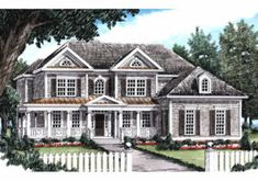 Frank Betz Associates, Inc. The Sutcliffe House Plan DDWEBDDFB-3634