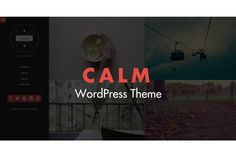 Calm - Responsive WordPress Theme by KS Designing on @creativemarket