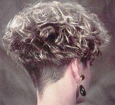 one of my top 5 favorites Short Permed Hair, Grey Curly Hair, Short Curly Haircuts, Short Curls, Curly Hair Cuts, Cute Hairstyles For Short Hair, Short Bob Hairstyles, Short Hair Cuts, Curly Hair Styles