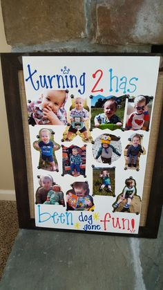 Paw Patrol/Puppy Birthday Pictures Sign