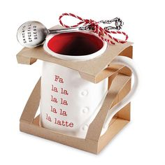 Holiday Circa Mug & Spoon Sets from Mud Pie