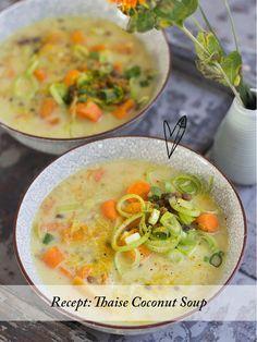 Recept: Thaise Coconut Soup