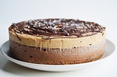 My Vibrant Kitchen | Vegan Chocolate and Salted Caramel Cheesecake | http://myvibrantkitchen.com