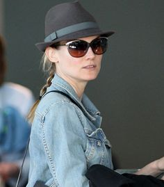 Diane Kruger Spotted Wearing Jason Wu Sunglasses! Modo for Jason Wu at www.modo.com #jasonwu #modoeyewear #sunglasses