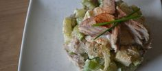 Gerookte Makreel Salade Met Bieslook En Yoghurt recept | Smulweb.nl