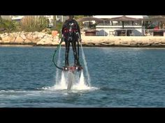 I'd love to try this!  You can fly (20 feet above water) for less than $7000 US dollars
