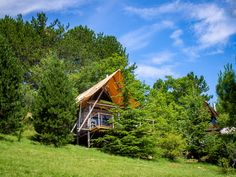 Une cabane à l'Huttopia de Dieulefit, le rêve !