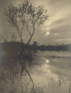 Josef Sudek - Pastoral landscape, 1921