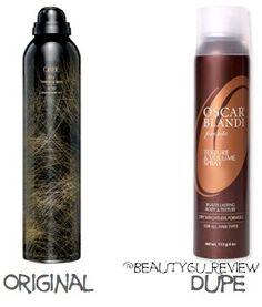 orbie dry texturizing spray vs oscar blandis texture volume spray