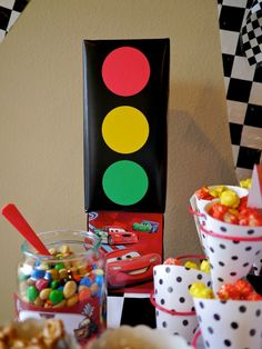 Photo 1 of 80: Disney Cars / Birthday Andersons 2nd Birthday Party! | Catch My Party