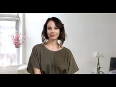 Romantic Faux Bob Hair How To with L'Oréal Professionnel - YouTube