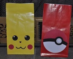 Pokemon gift bags