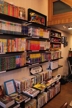 書店中眾多的旅遊書