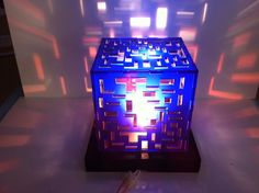 Cube Light Design
