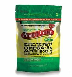 Love Yourself <3 Live Healthier with Anutra, a Cultivar        of Chia Complete Protein, Fiber & Regenerates Healthier Cells~ Use in Recipes or just sprinkle on meals... OMEGA-3s  GROUND WHOLE GRAIN    Anutra,http://www.amazon.com/dp/B00IEJRXJA/ref=cm_sw_r_pi_dp_4v.etb0KG25MTYT9