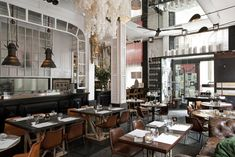 Fabulous colour palette and styling original pin note: RESTAURANT BIG FISH, Barcelona