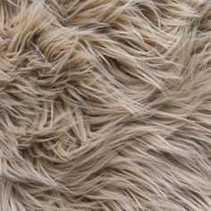 Amazon.com: MoHair 60 Inch Faux Fur Sand Fabric by the Yard (F.E.®)