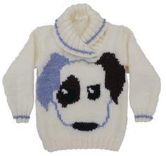 Puppy Dog Jumper Knitting Pattern £2.99
