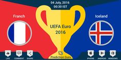 Which team will play #SemiFinal ? #France / #IceLand predict at http://pgur.in/uqwa6x #Euro2016 #Football #FRAvICE