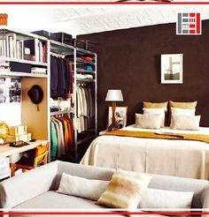 """Použitie regálov v domácnosti a priamo vo Vašej spálni? Inšpirujte sa s nami rôznymi nápadmi zákazníkov👍 Industriálny štýl je predsa """"in"""" . https://www.majster-regal.sk/ #majsterregál #domácnosť #regál #industrial"""