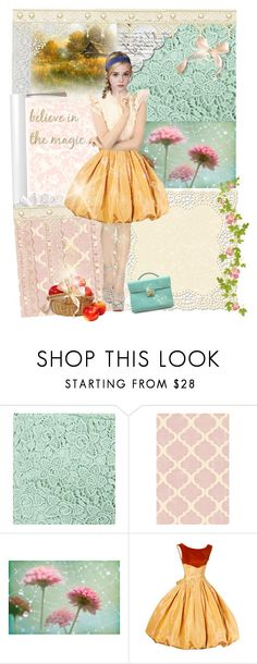 """Do you believe in magic?"" by renete ❤ liked on Polyvore featuring City by Windsor, WallPops and Chanel"