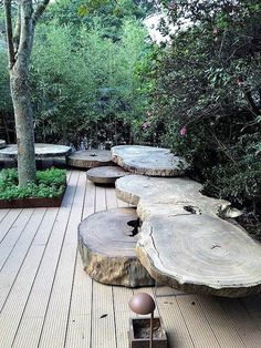 (via alex hanazaki paisagismo / jardim hana zaki, mostra black Outdoor Rooms, Outdoor Gardens, Outdoor Living, Small Gardens, Landscape Architecture, Landscape Design, Garden Seating, Garden Benches, Outdoor Benches