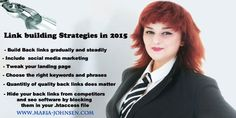 Link building SEO Strategies and Social Media Marketing 2015  http://www.maria-johnsen.com/multilingualSEO-blog/link-building-seo-strategies-and-social-media-marketing-2015/