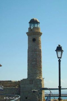 Lighthouse. Rethymno, Crete