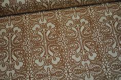 Designerstoffe USA - Art Gallery Baumwolle Lace Elements braun - ein Designerstück von Kruemel-Design bei DaWanda