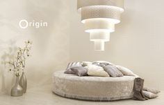 non-woven wallpaper shiny white. collection metropolitan Origin