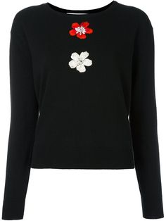 Shop Blugirl floral embroidered jumper in Etre - Vestire from the world's best independent boutiques at farfetch.com. Shop 400 boutiques at one address.