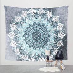 Petal Tapestry Floral Printed Boho India Hanging Wall Tapestries 130cmx150cm…