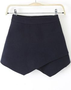 Wrap Up Woolen Skirt Shorts