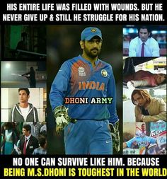 😭😭💛 who have MSD are the luckiest people on earth 😍😍😍💕💞💞💞😘😘 History Of Cricket, Crickets Funny, Ronaldo Quotes, Dhoni Quotes, Ms Dhoni Wallpapers, Cricket Quotes, Ms Dhoni Photos, Chanakya Quotes, Psychology Fun Facts
