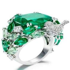 Diamond Jewelry You are going to buy this? Diamond Jewelry Piaget Rose Passion ring in white gold, set with diamonds and marquise cut and princess Emerald Jewelry, High Jewelry, Jewelry Rings, Jewelry Accessories, Jewelry Design, Unique Jewelry, Jewelry Watches, Women Jewelry, Bling Jewelry