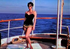 Ava Gardner in The Barefoot Contessa 1954 (photo taken by Annoth) ....Uploaded By www.1stand2ndtimearound.etsy.com
