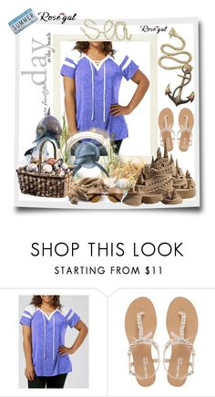 """Sea"" by mirodjija ❤ liked on Polyvore featuring Head Over Heels by Dune"