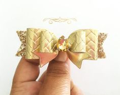 Disney Princess Snow White Inspired Hair Bow by MeghanandJulie