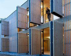 Holzwand, öffne dich! :: holzbau austria - Fachmagazin für nachhaltige Architektur ::