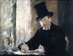 Chez Tortoni by Édouard ManetDate missing: 1990 - Manet's portrait of a man drawing in the Cafe Tortoni in Paris was lost with the Gardner Museum theft. Photo: Associated Press